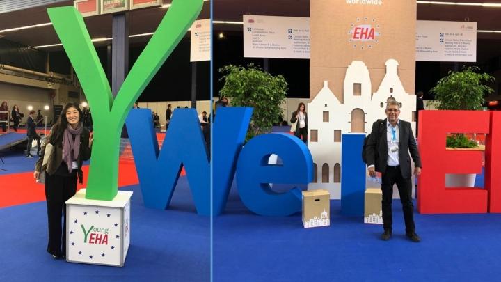 Equipe de Hematologia e Transplante de Medula Óssea da BIO SANA'S participam do Congresso Europeu do EHA (European Hematology Association)