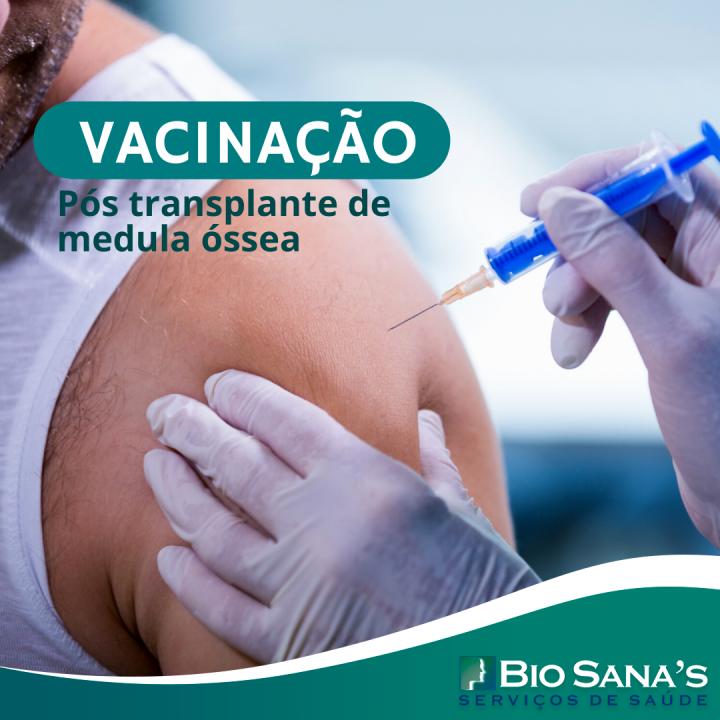 Vacinação pós Transplante de Medula Óssea