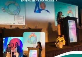 Palestra no III International  Meeting Sobratafe - Enfermeira Lina Monetta