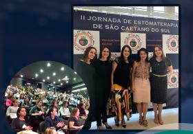 Enfermeira Lina Monetta participa palestrando na II Jornada de Estomaterapia de São Caetano do Sul