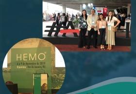 Equipe médica da BIO SANA'S participa do Hemo 2019 (Congresso Brasileiro de Hematologia e Hemoterapia)