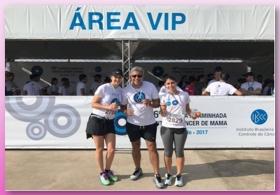 BIO SANA'S presente na 56ª edição da Corrida e Caminhada Contra o Câncer de Mama