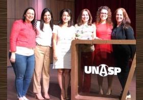 Participação no 1º Simpósio de Enfermagem Dermatológica - UNASP